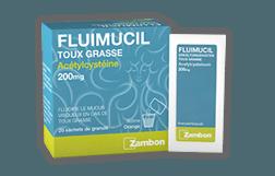 FLUIMUCIL TOSSE GRASSA<br /> GRANULATO<br /> 200 mg e 600 mg