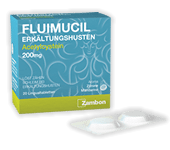 FLUIMUCIL ERKÄLTUNGSHUSTEN<br /> LINGUALTABLETTEN<br /> 200 mg