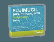 FLUIMUCIL ERKÄLTUNGSHUSTEN<br /> TABLETTEN<br /> 600 mg